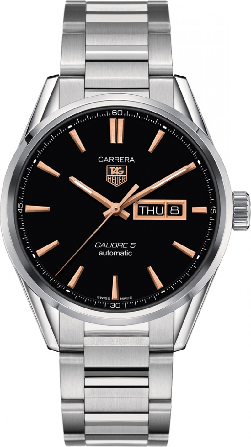 Fake TAG Heuer Carrera Calibre 5 Day-Date Automatic 41mm WAR201C.BA0723