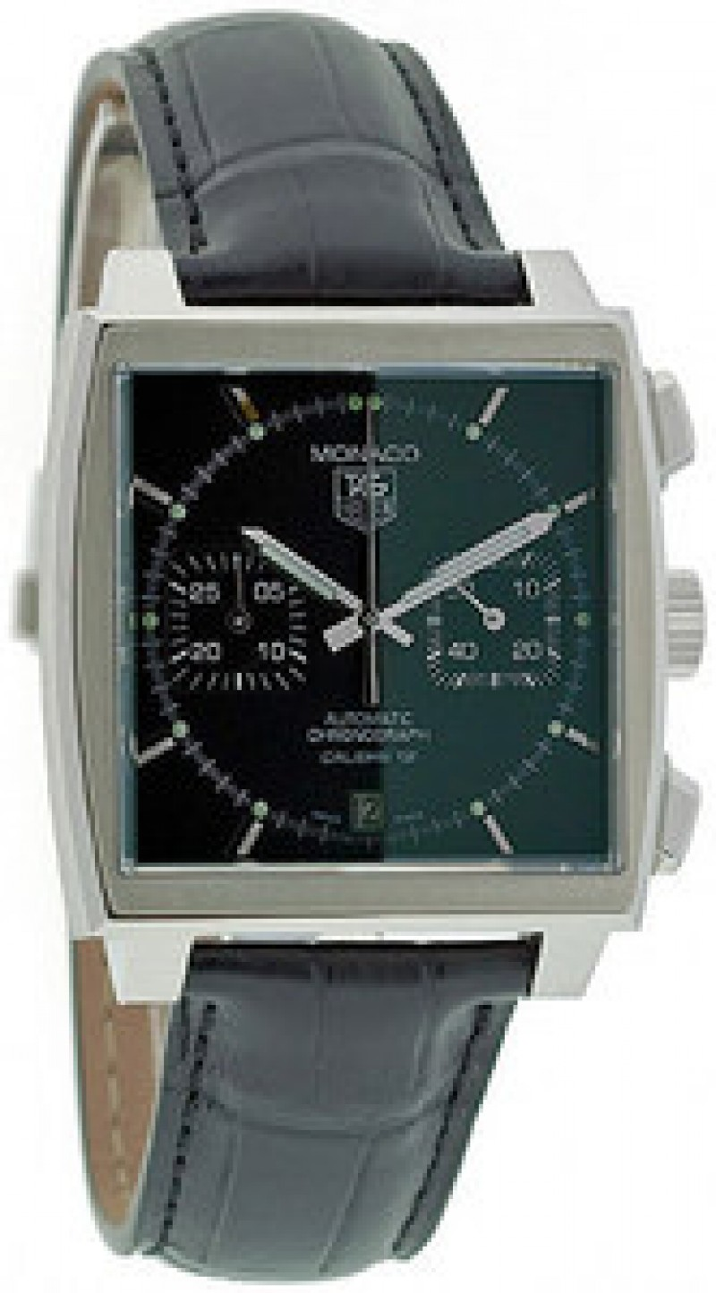 Fake TAG Heuer Monaco Automatic Chronograph Date Mens Watch CAW2110.FC6177