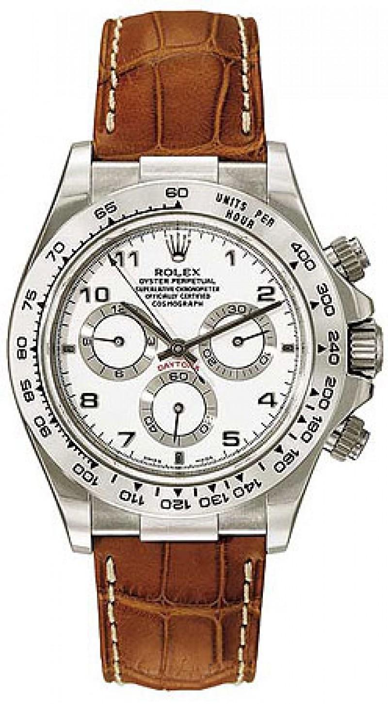 Fake Rolex Daytona Black Index Dial Mens Watch 116519BKSL