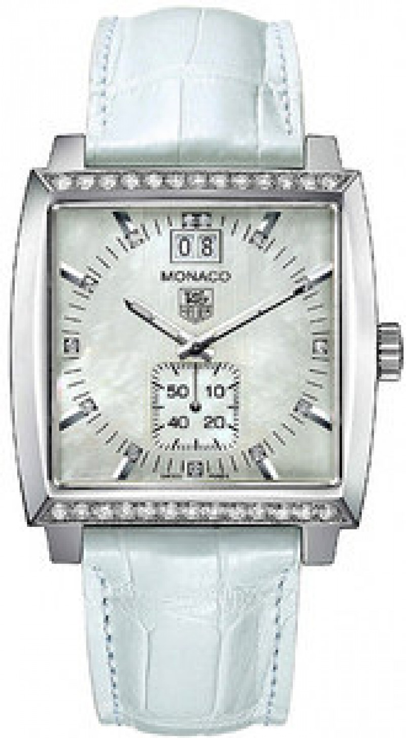 Fake TAG Heuer Monaco Quartz Ladies Watch WAW1313.FC6247