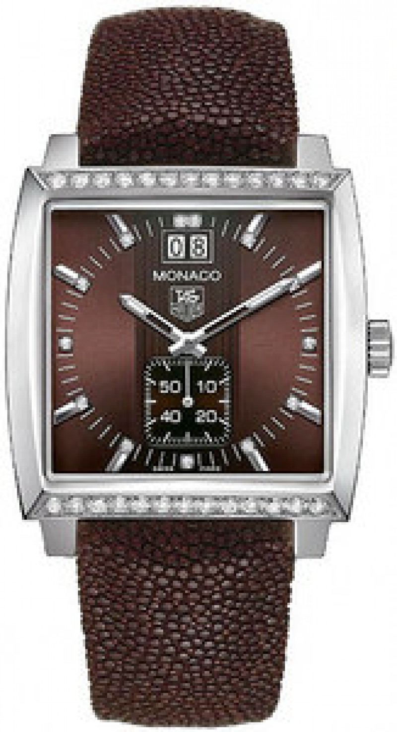 Fake TAG Heuer Monaco Quartz Ladies Watch WAW1316.EB0025