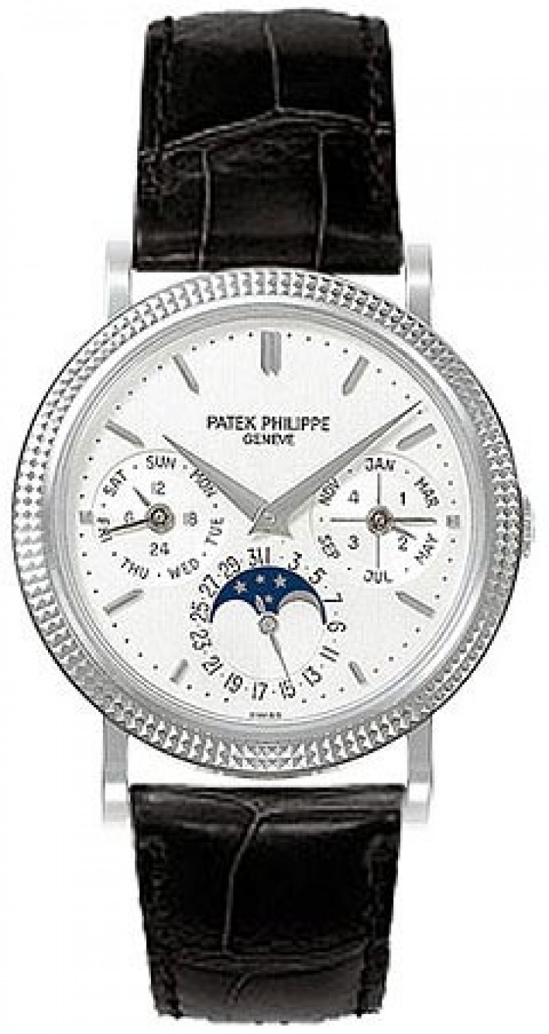 Replica Patek Philippe Annual Calender Moonphase Automatic Mens Watch 5039G