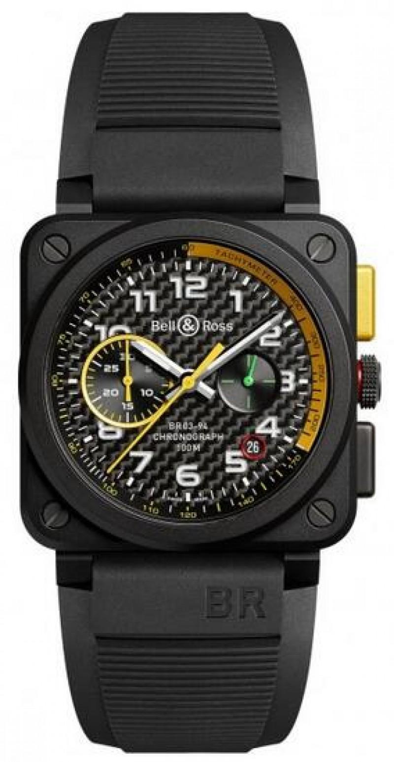 Replica Bell & Ross Aviation Mens Watch BR03-94 RS17