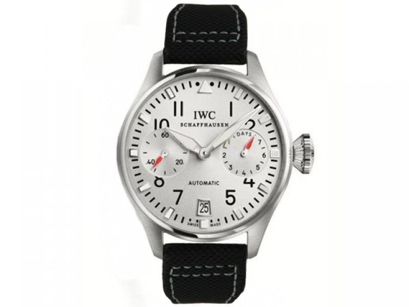 Fake IWC Big Pilot's DFB Automatic Stainless Steel Mens Watch IW500432