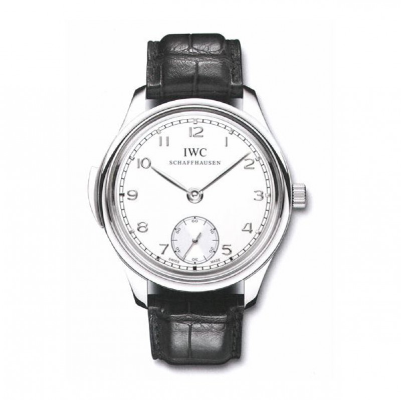 Fake IWC Portuguese Minute Repeater Manual Wind Platinum Mens Watch IW544906
