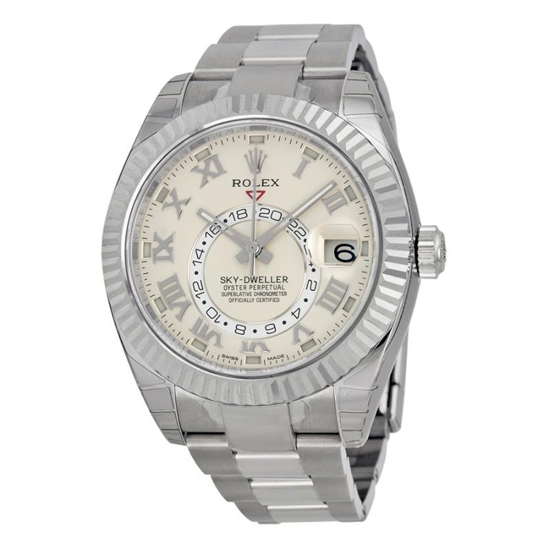 Fake Rolex Sky Dweller Mens Watch 326939IVRO