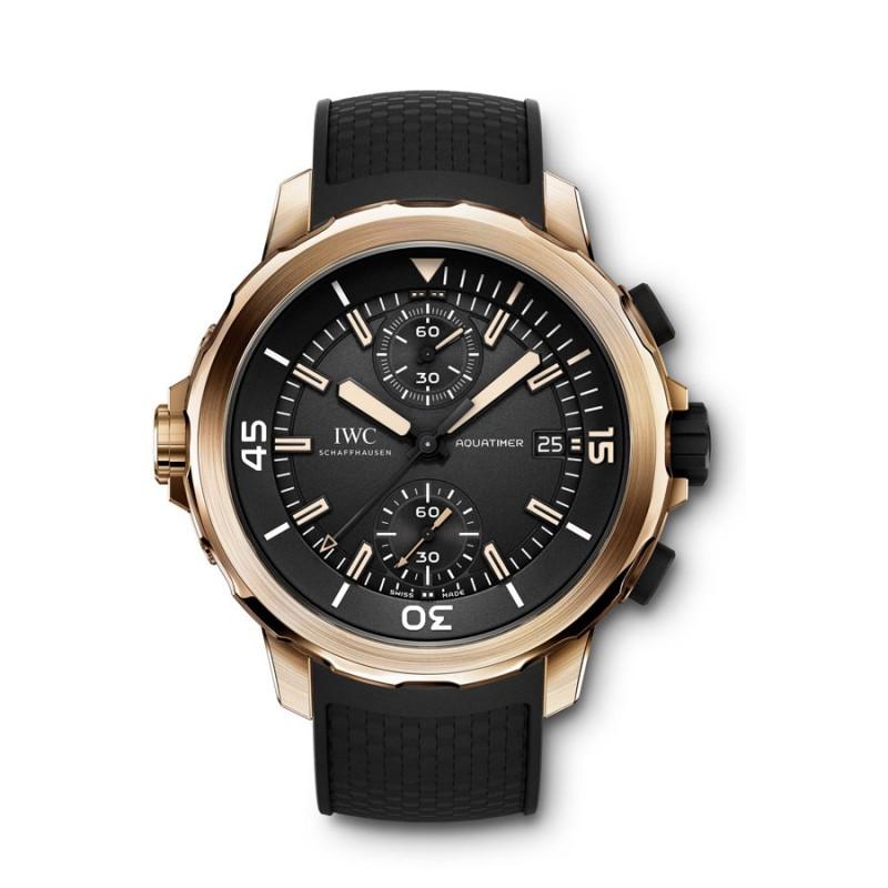 Fake IWC Aquatimer Chronograph Expedition Charles Darwin Mens Watch IW379503