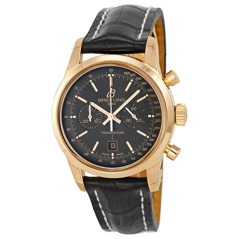 Fake Breitling Transocean Chronograph 38 Mens Watch R4131012-BC07BKCD