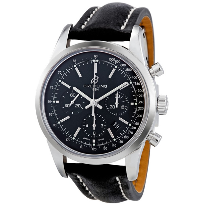 Fake Breitling Transocean Chronograph Mens Watch AB015212-BA99BKLD