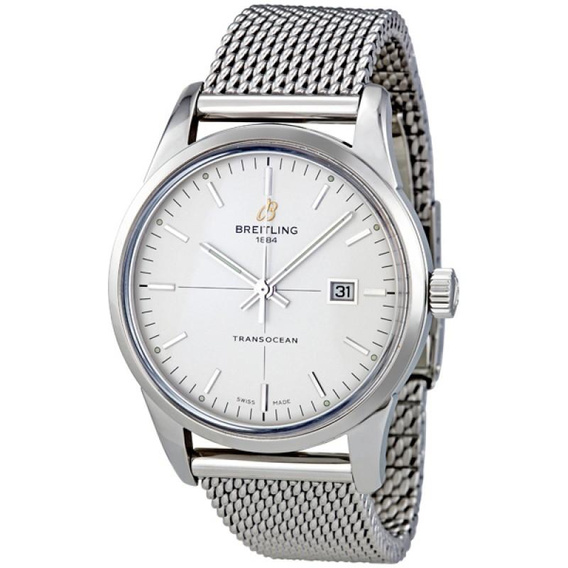 Fake Breitling Transocean Mercury Mens Watch A1036012/G721