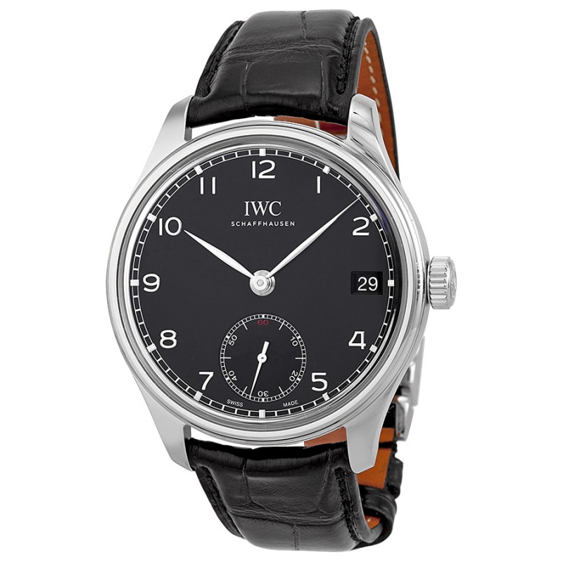 Fake IWC Portuguese Hand Wound Eight Days Mens Watch IW510202