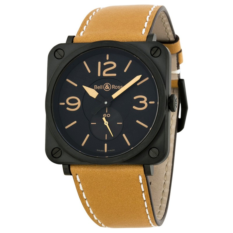 Replica Bell & Ross Aviation Mens Watch BRS-HERITAGE/SCA