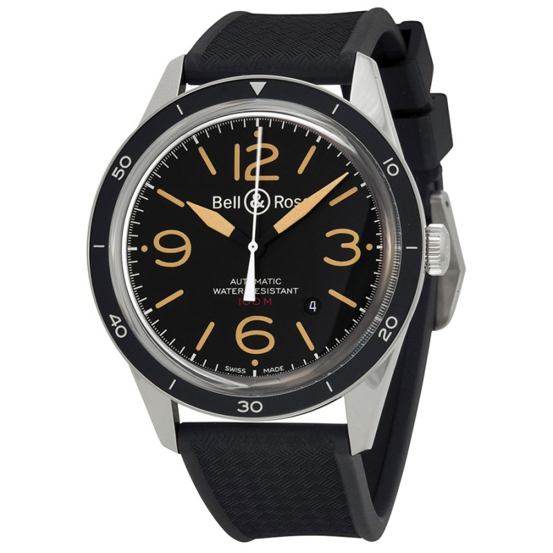 Replica Bell & Ross Sport Heritage Mens Watch BR123-HER-SRB