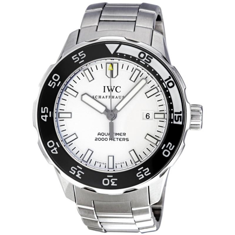Fake IWC Aquatimer Automatic 2000 White Dial Mens Watch IW356809
