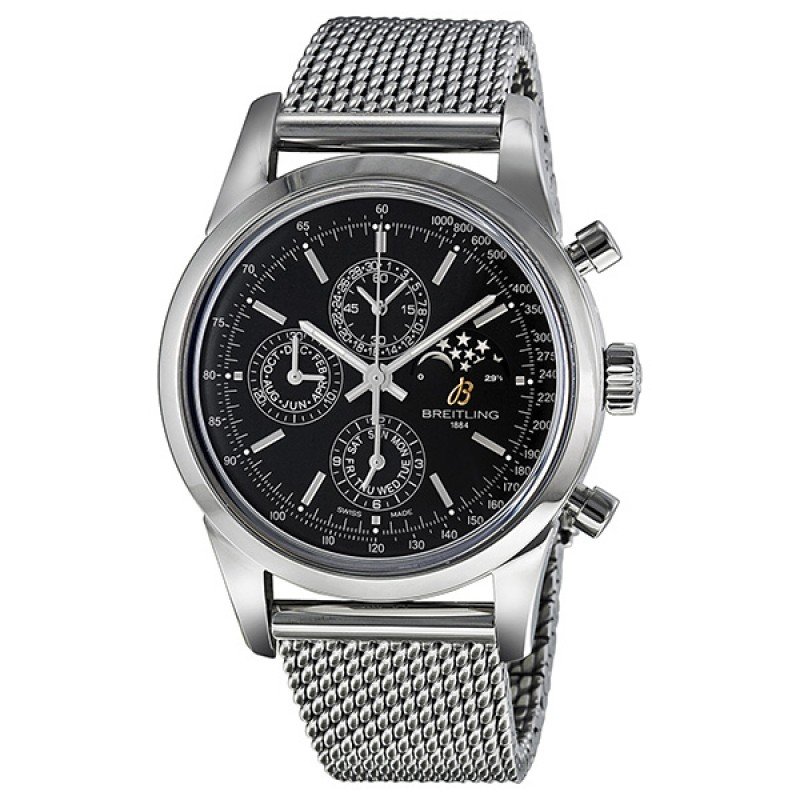 Fake Breitling Transocean Chronograph II Moonphase Automatic Mens Watch A1931012-BB68