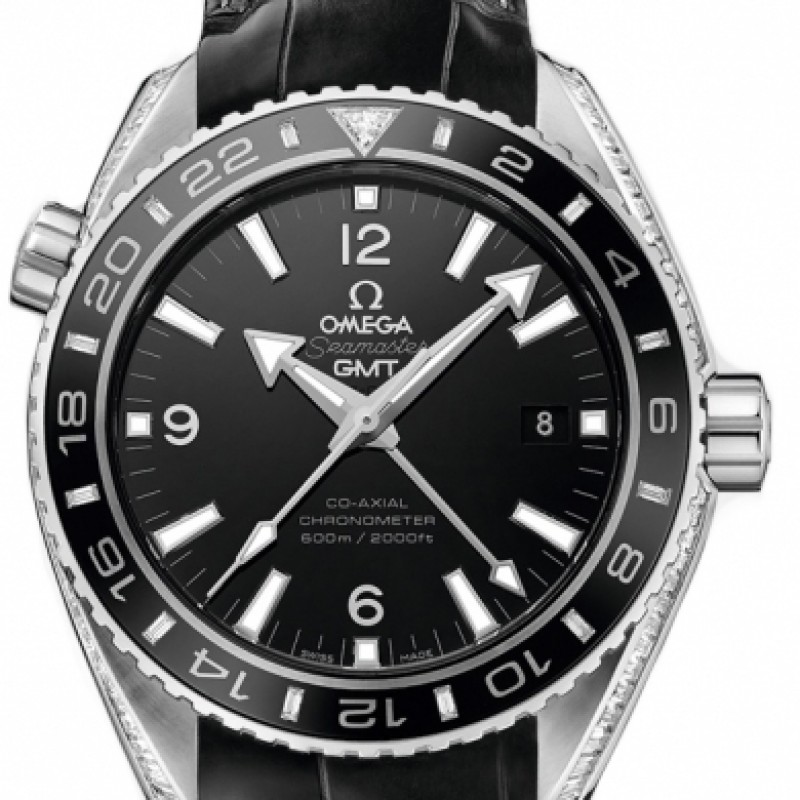 Fake Omega Seamaster Planet Ocean 600 M GMT 43.5mm 232.98.44.22.01.001
