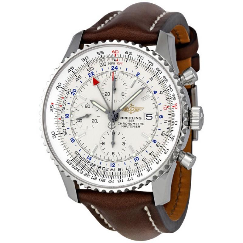 Fake Breitling Navitimer World Watch A2432212-G571BRLT