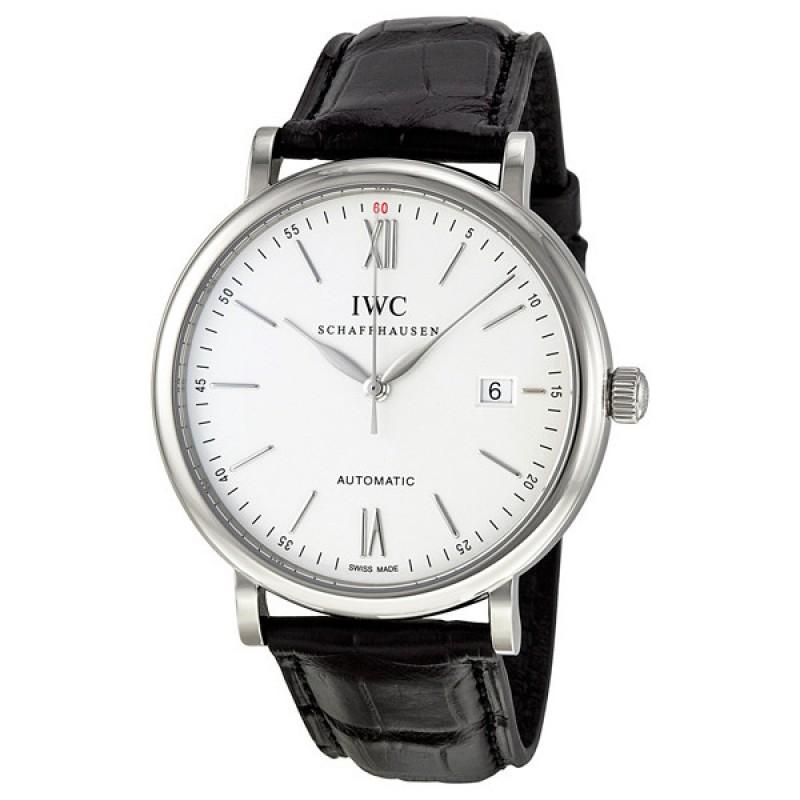 Fake IWC Portofino Silver Dial Automatic Mens Watch 3565-01
