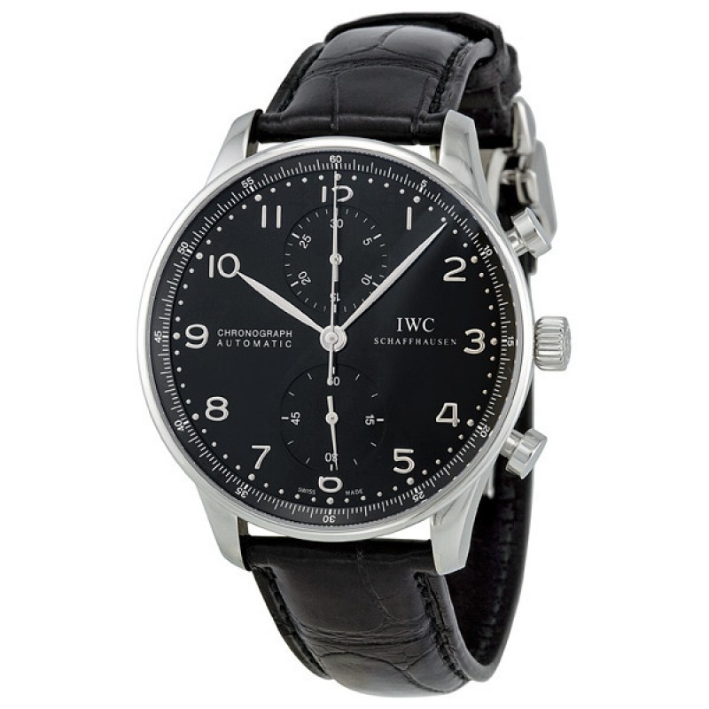 Fake IWC Portuguese Automatic Chronograph Mens Watch IW371447