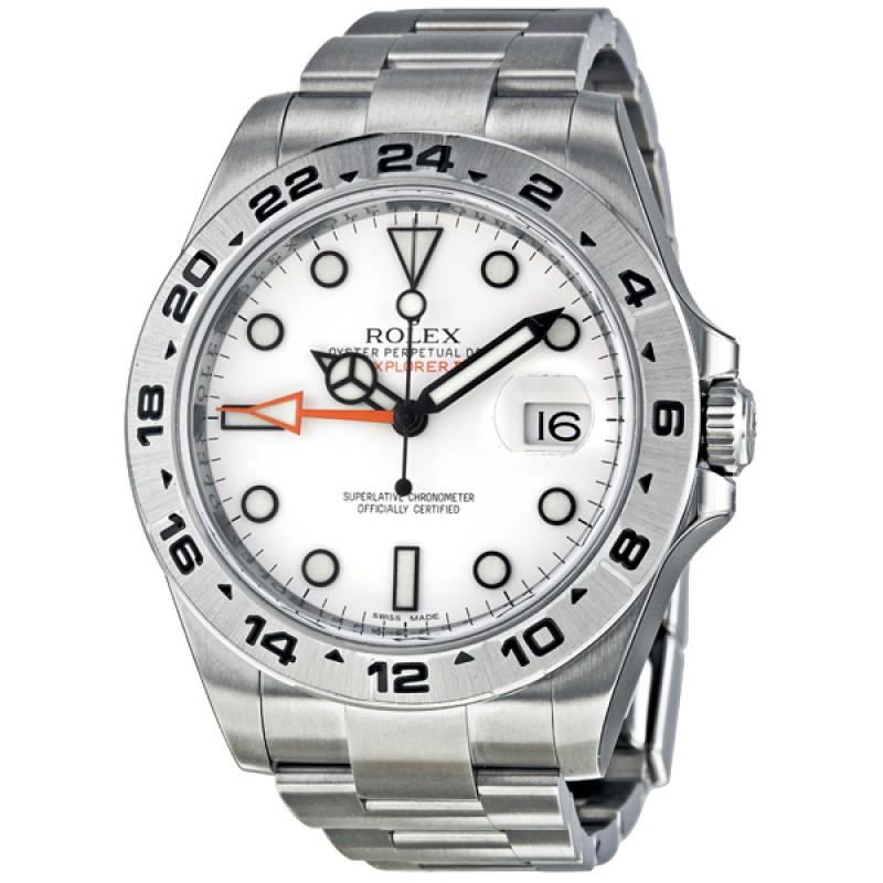 Fake Rolex Explorer II White Automatic Mens Watch 216570WSO