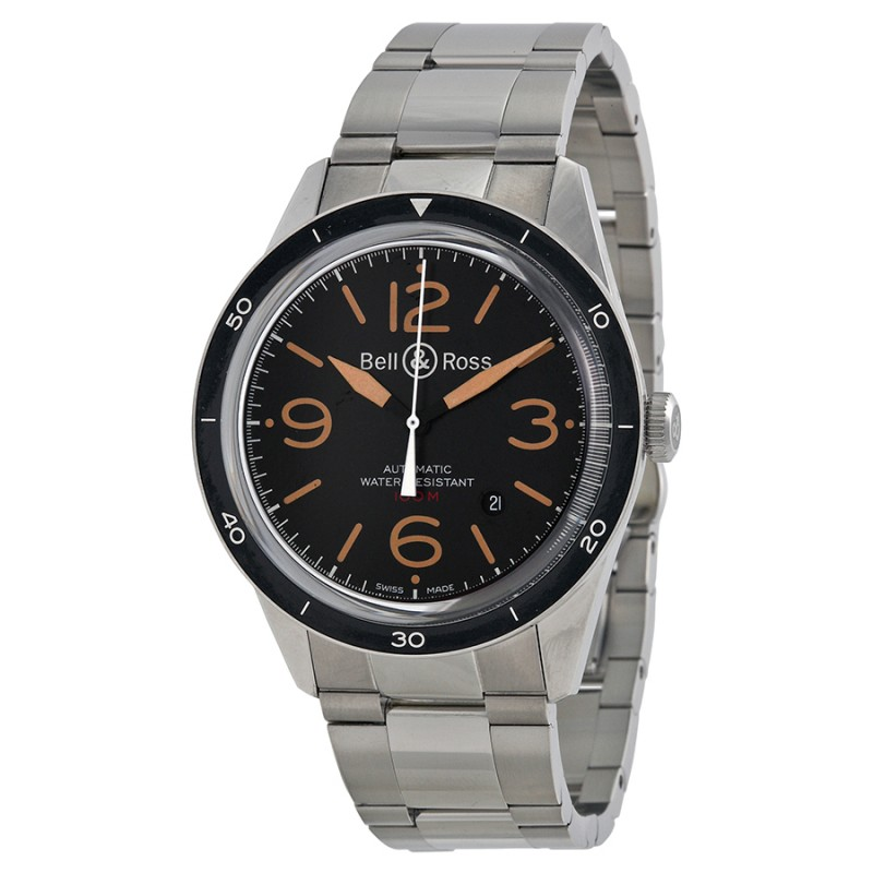 Replica Bell & Ross Vintage Sport Mens Watch BRV123-ST-HER-SST