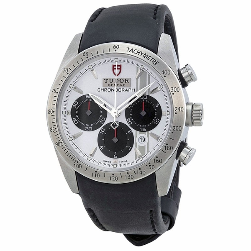 Fake Tudor Fastrider White Dial Watch Chronograph Automatic Mens Watch