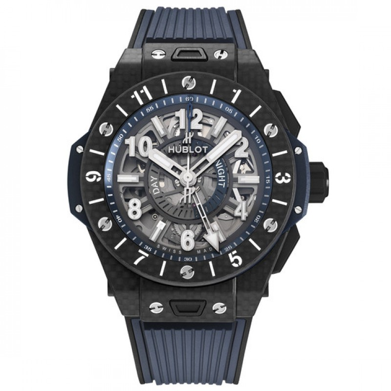 Fake Hublot Big Bang Unico GMT Carbon Watch 45mm 471.QX.7127.RX