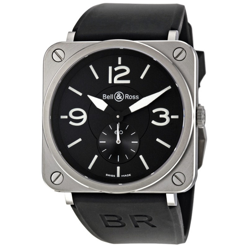 Replica Bell & Ross Aviation Mens Watch BRS-BL-ST-SRB