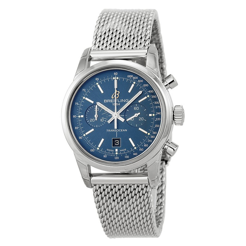 Fake Breitling Transocean Chronograph 38 Automatic Mens Watch A4131012/C862