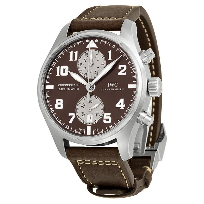Fake IWC Pilot's Antoine De Saint Exupery Chronograph Automatic Mens Watch IW387806