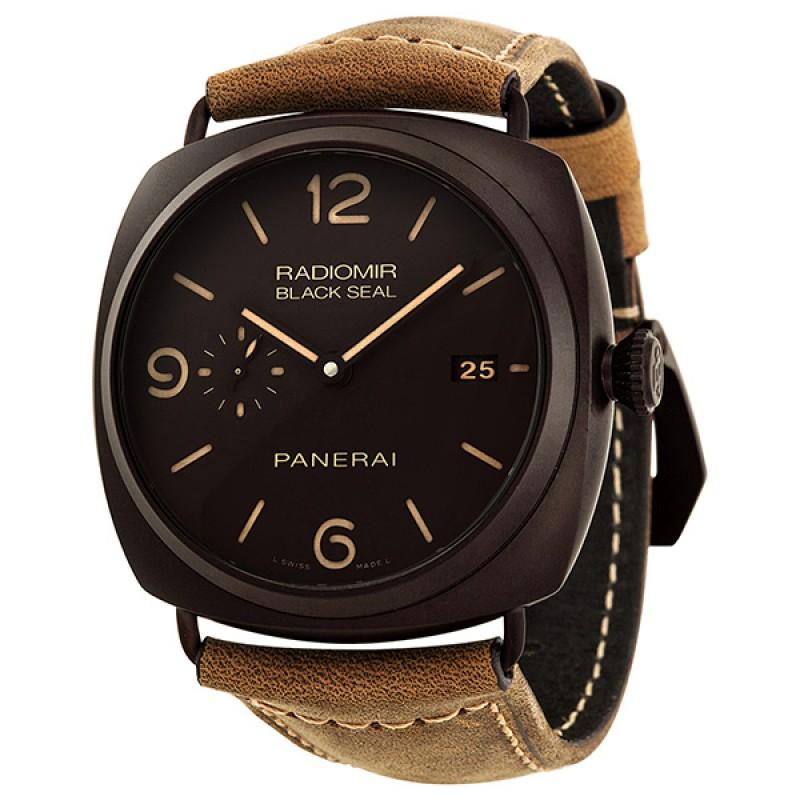 Fake Panerai Radiomir Composite Black Seal 3 Days Automatic Mens Watch PAM00505