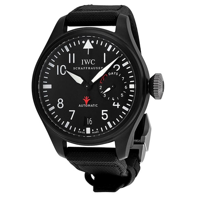 Fake IWC Big Pilot's Top Gun Black Dial Automatic Mens Watch IW501901