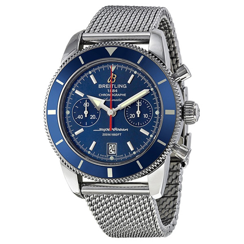 Fake Breitling Superocean Heritage Chronograph 44 Mens Watch A2337016-C856SS