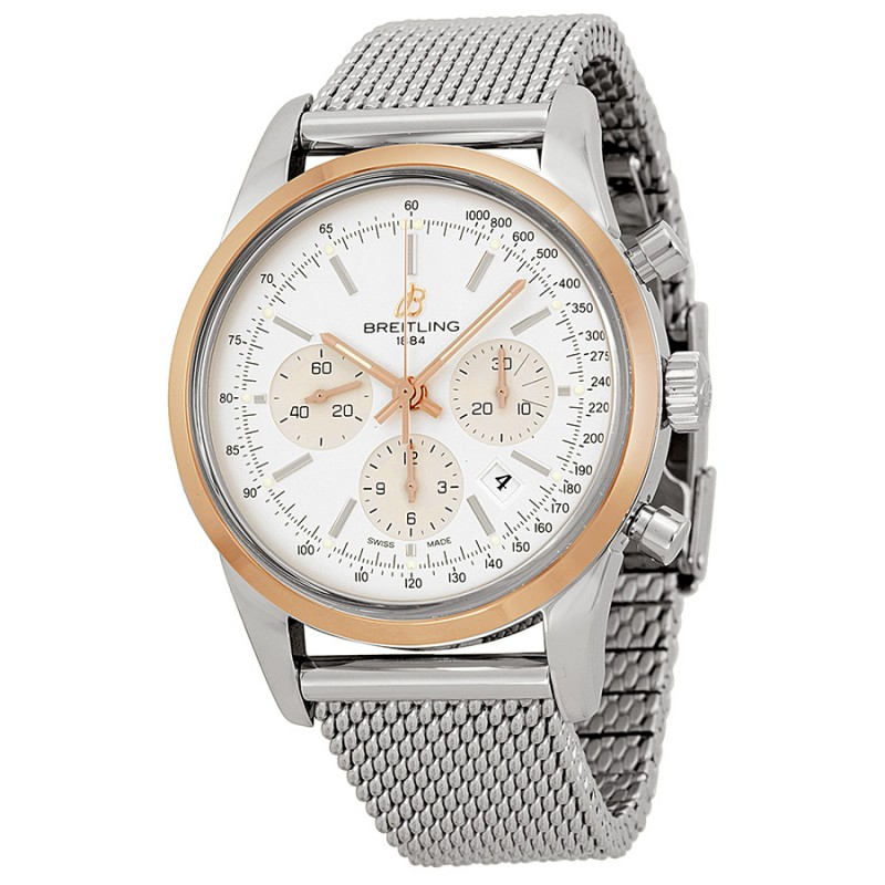 Fake Breitling Transocean Chronograph Mens Watch UB015212-G777SS