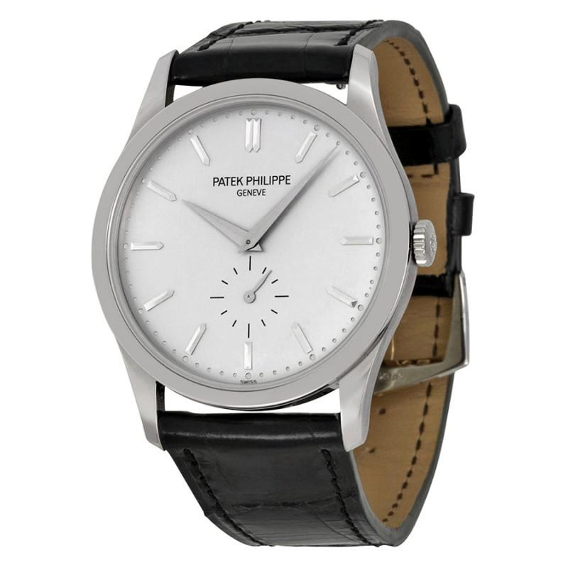 Replica Patek Philippe Calatrava Automatic White Gold Mens Watch 5196G/001