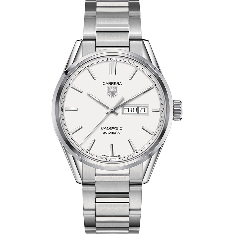 Fake TAG Heuer Carrera Calibre 5 Day-Date Automatic 41mm WAR201B.BA0723