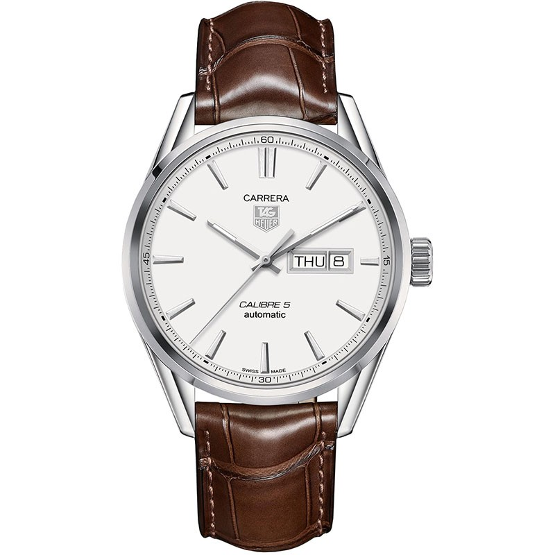 Fake TAG Heuer Carrera Calibre 5 Day-Date Automatic 41mm WAR201B.FC6291