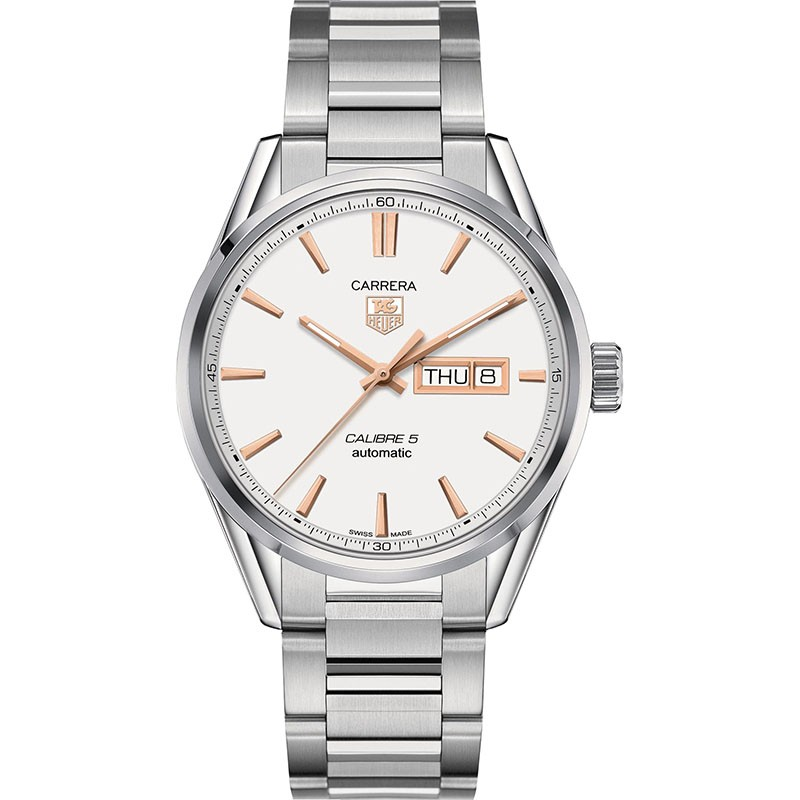 Fake TAG Heuer Carrera Calibre 5 Day-Date Automatic 41mm WAR201D.BA0723