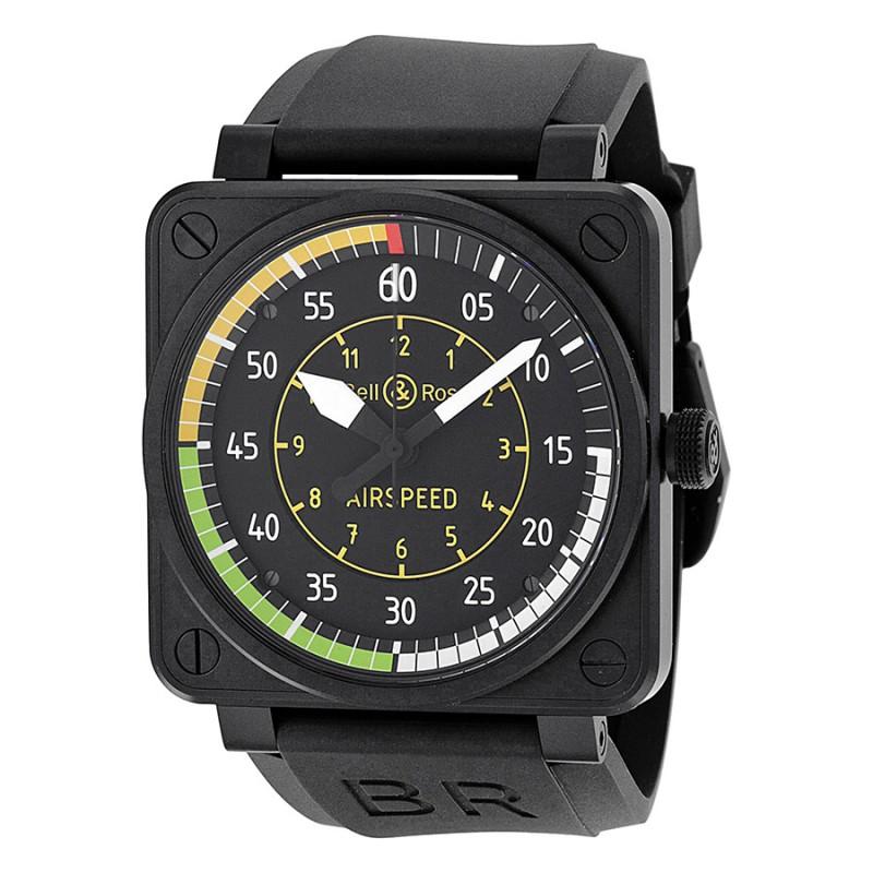 Replica Bell & Ross Aviation Flight Instruments Mens Watch BR0192-AIRSPEED