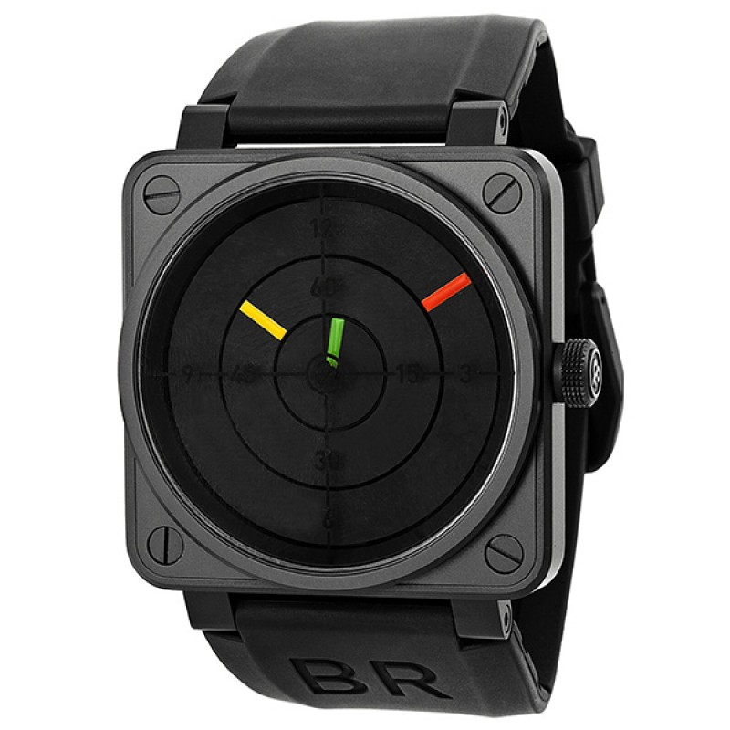 Replica Bell & Ross Aviation Radar Automatic Mens Watch BR0192RADAR