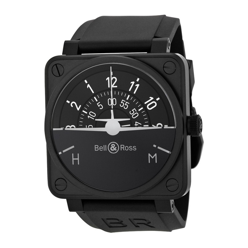 Replica Bell & Ross Turn Coordinator Automatic Mens Watch BR0192-TURNCOOR