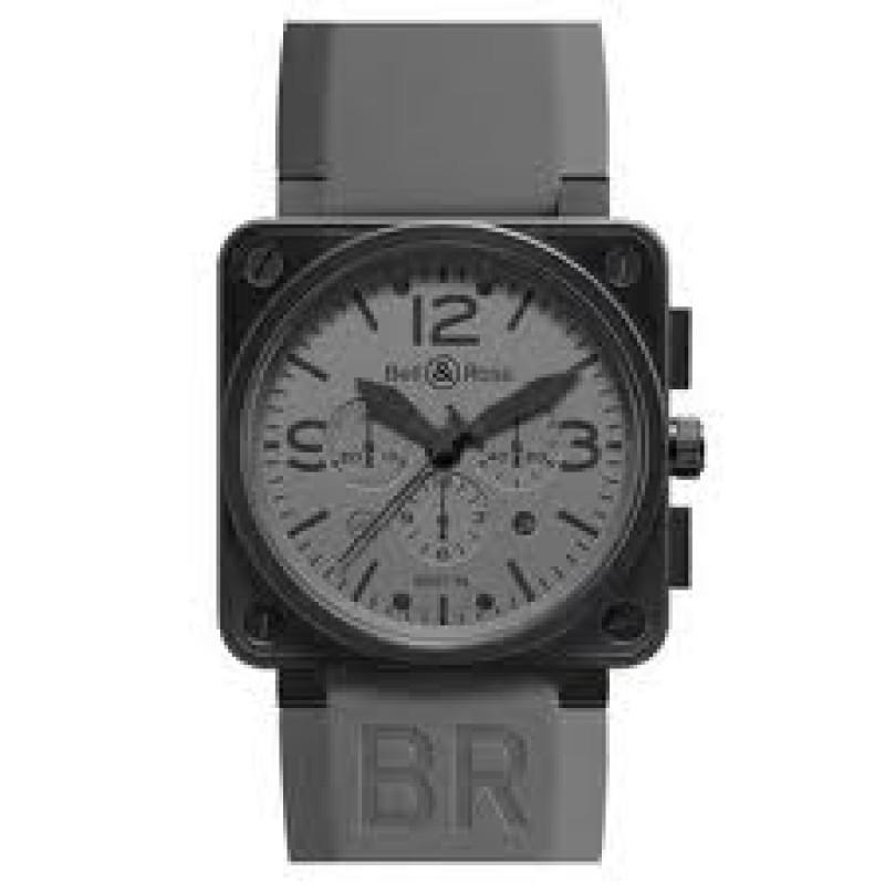 Replica Bell & Ross Aviation Commando Chronograph Automatic Mens Watch BR01-94COMMANDO