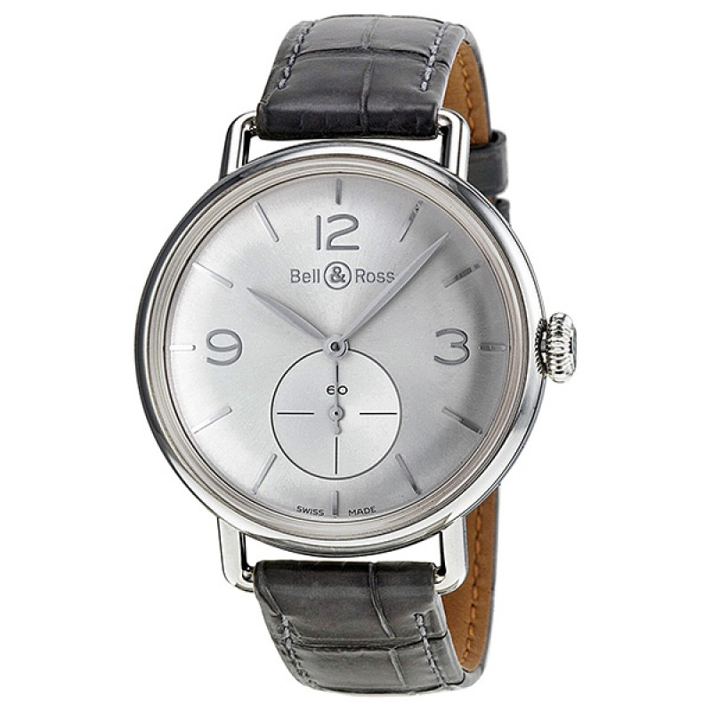 Replica Bell & Ross WW1 Argentium Automatic Mens Watch BRWW1-ME-AG-S