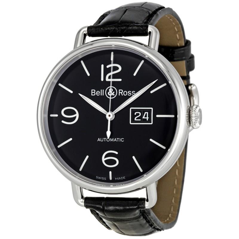 Replica Bell & Ross WW1 Grande Date Automatic Mens Watch BRWW196-BL-ST