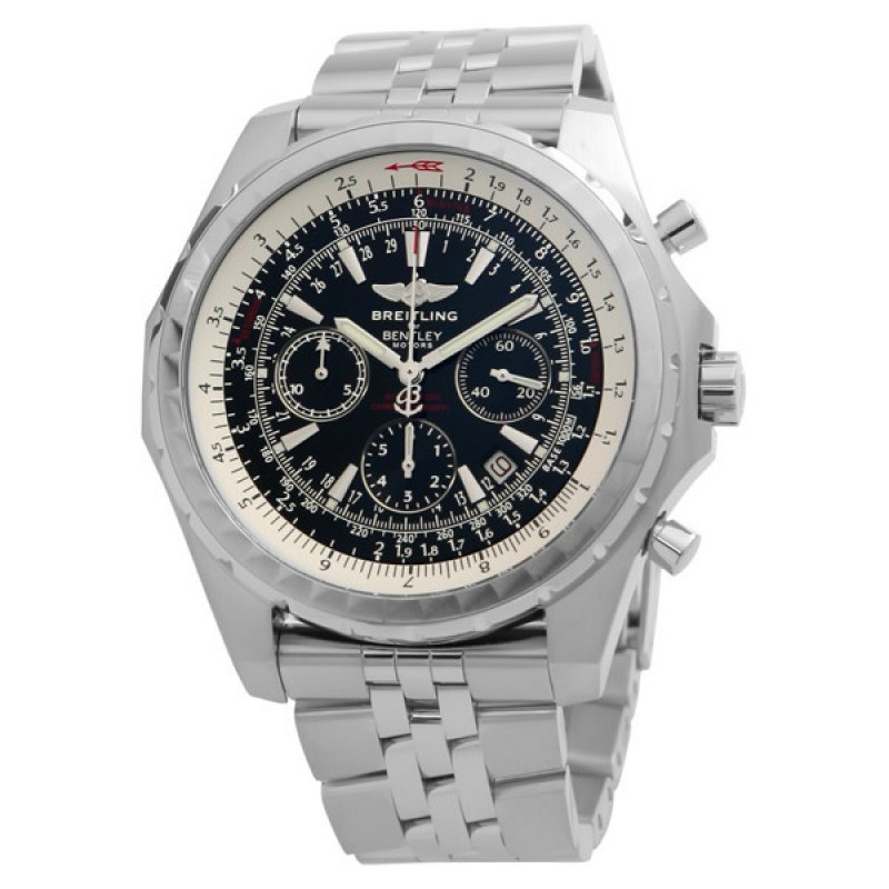 Fake Breitling Bentley Motors Chronograph Steel Mens Watch A2536212-G552SS