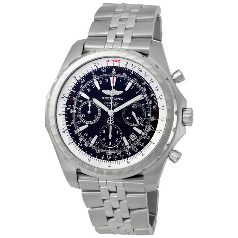 Fake Breitling Bentley Motors T Mens Watch A2536313-B686SS