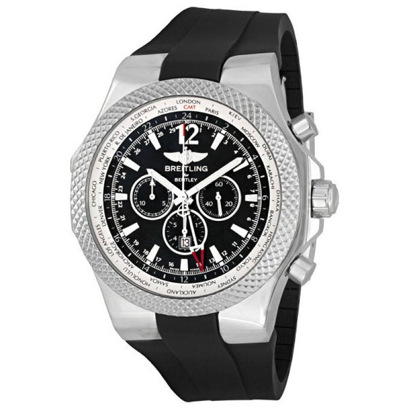 Fake Breitling Bentley GMT Mens Watch A4736212-B919BKRD