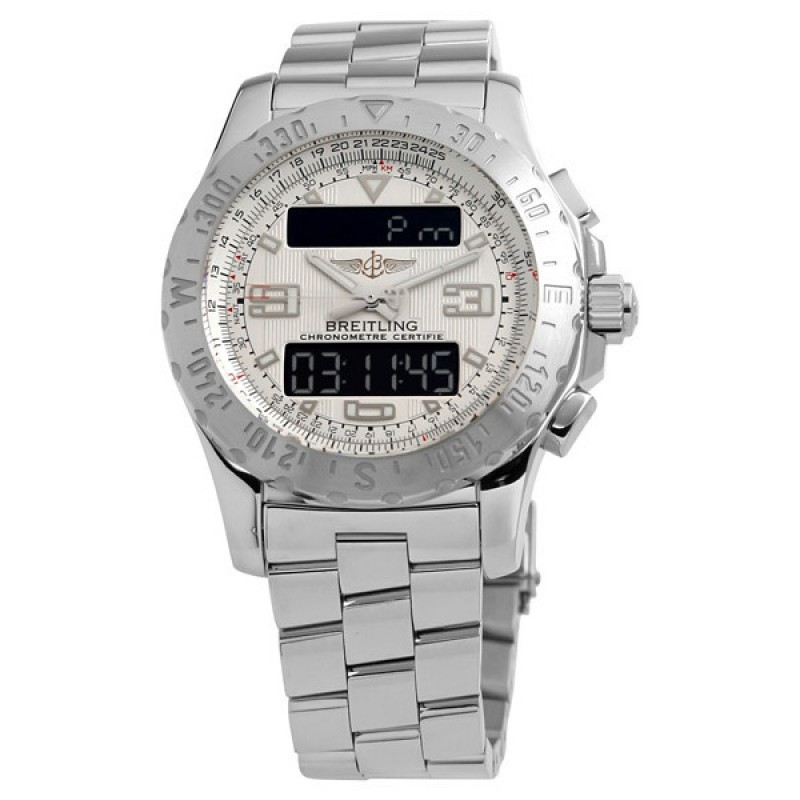 Fake Breitling Professional Airwolf Mens Analog-Digital Watch A7836334-G65-140