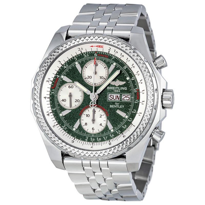 Fake Breitling Bentley GT Automatic Chronograph Mens Watch A1336212-L503SS