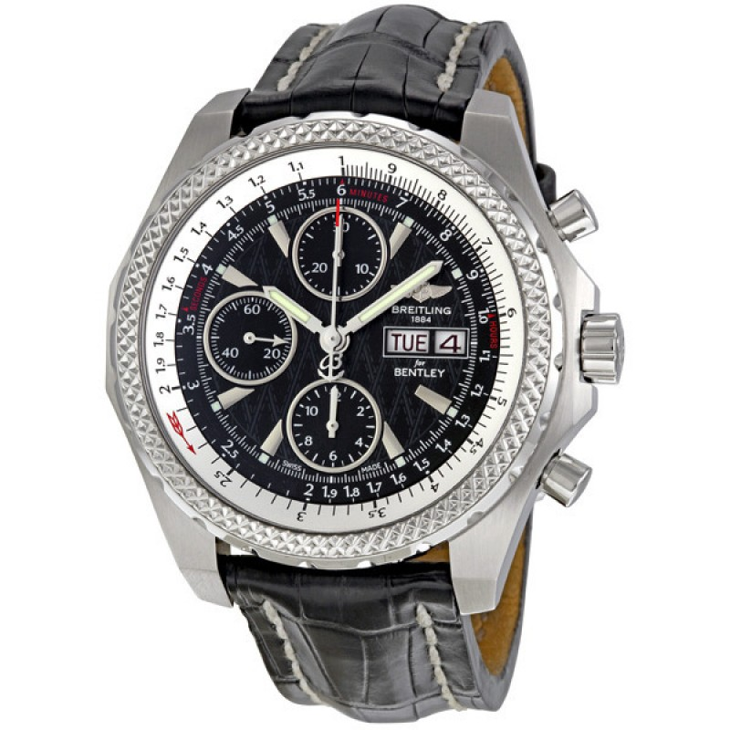 Fake Breitling Bentley GT Racing Chronograph Mens Watch A1336313-B960BKCT